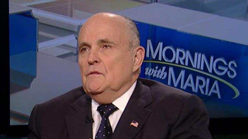 Former New York City Mayor Rudy Giuliani reflects on the anniversary of 9/11.