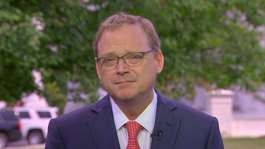 White House Council of Economic Advisors Kevin Hassett discusses the strength of the U.S. economy and why he believes that Canada will soon make a trade deal with the United States.