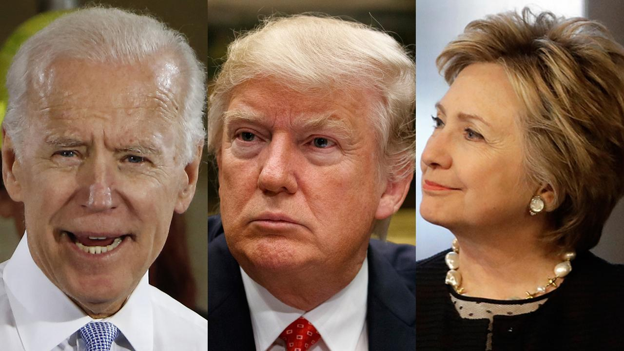 FOX Business' Kennedy on former Vice President Joe Biden and former Secretary of State Hillary Clinton renew rivalry with President Trump.
