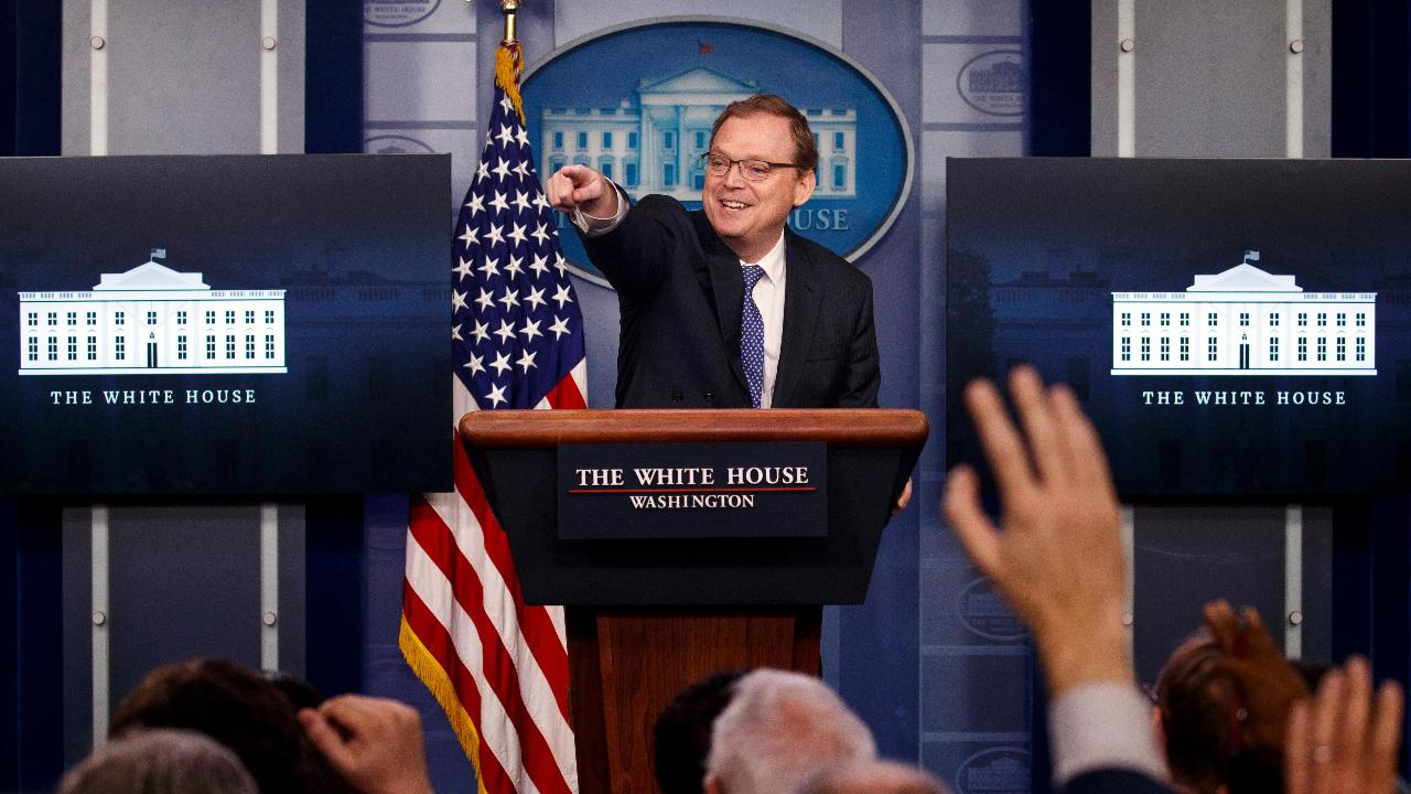 Council of Economic Advisors Chairman Kevin Hassett discusses the strength of the U.S. economy and the increase in small business optimism.
