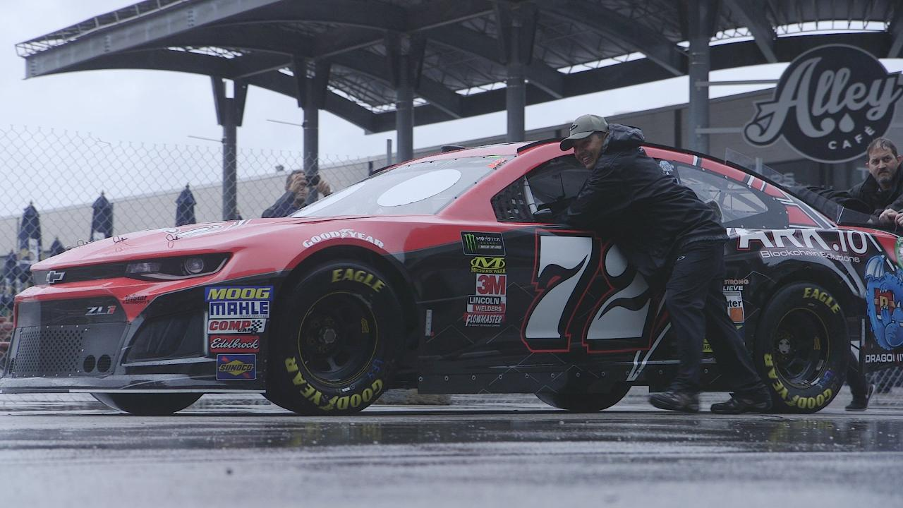 Carley Shimkus goes behind the scenes of a NASCAR race with TriStar MotorSports, a professional stockcar racing team that has become a successful American family business.