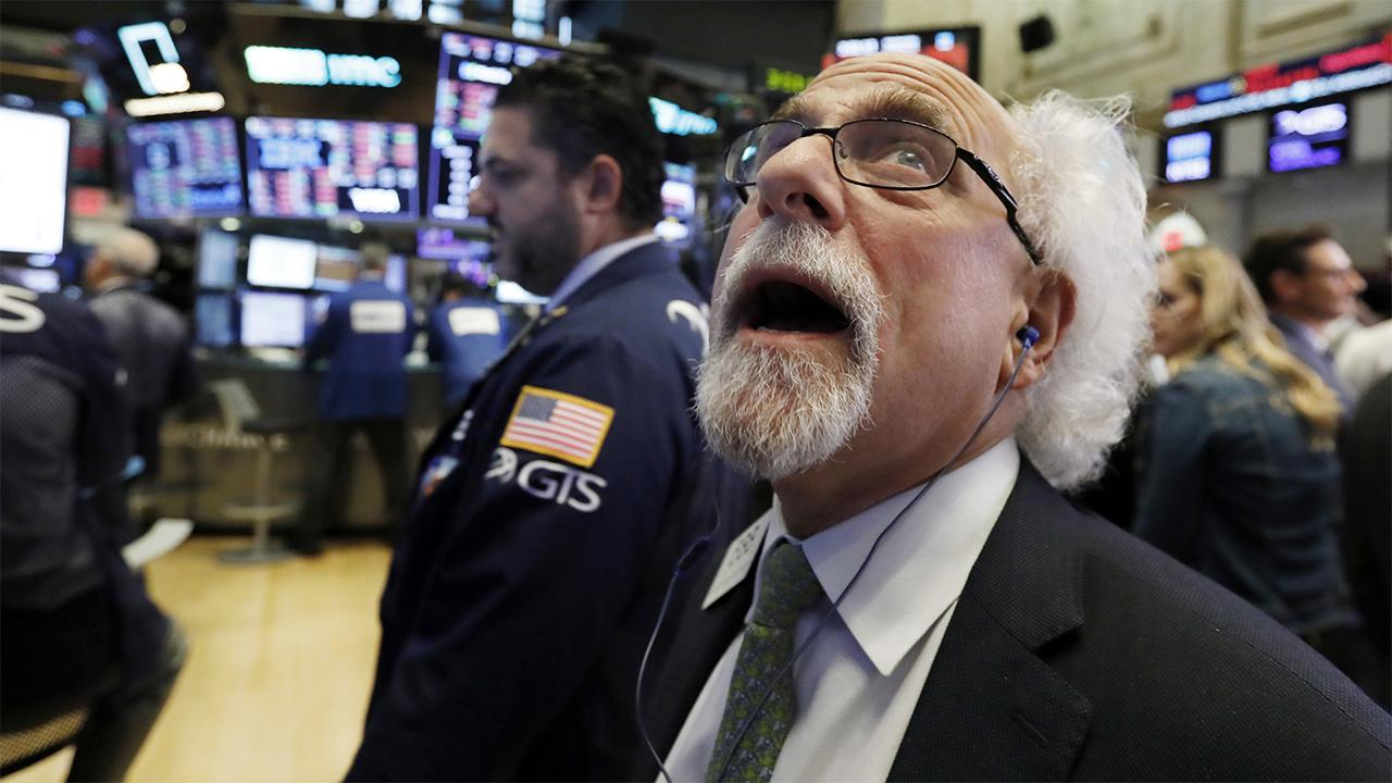 FOX Business' Gerri Willis reports from the trading floor of the New York Stock Exchange on the Dow Jones Industrial Average recording its largest single-day point drop since February.