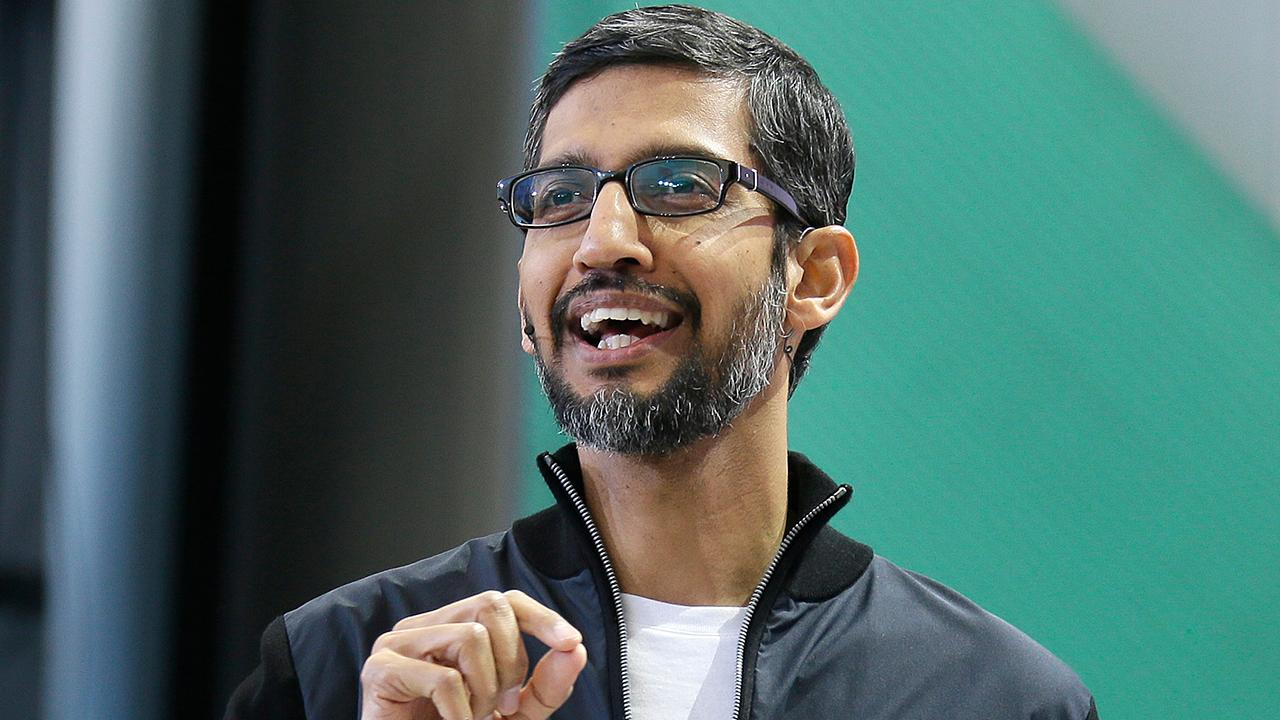 Fox Business Briefs: Google CEO Sundar Pichai sends memo to company saying they've fired 48 people over the past two years for sexual harassment; Expedia buys two start-ups that will help it take on Airbnb.