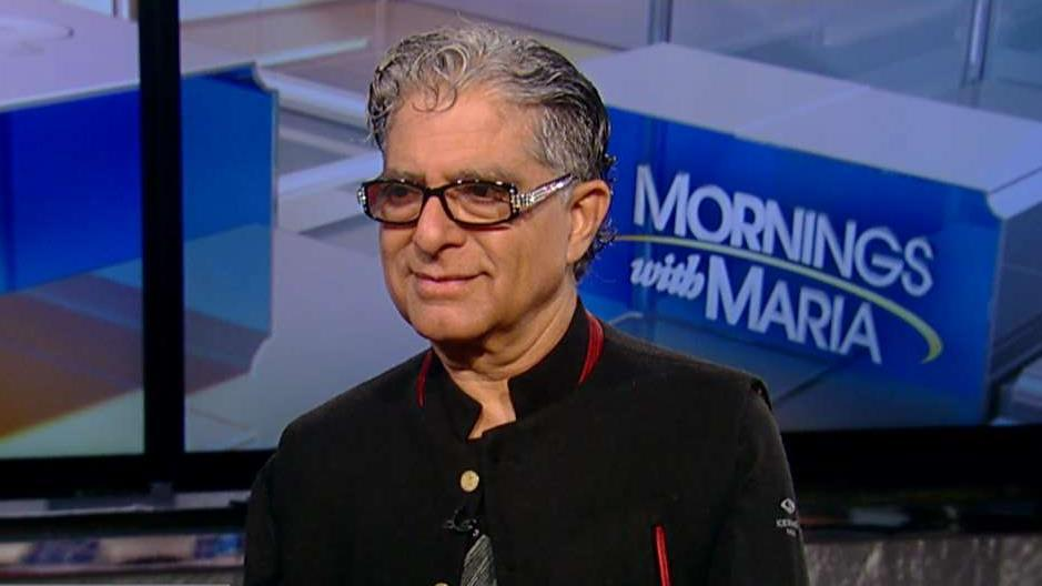 'You are the Universe' author Deepak Chopra on how technology and the internet can bring positivity to the world.