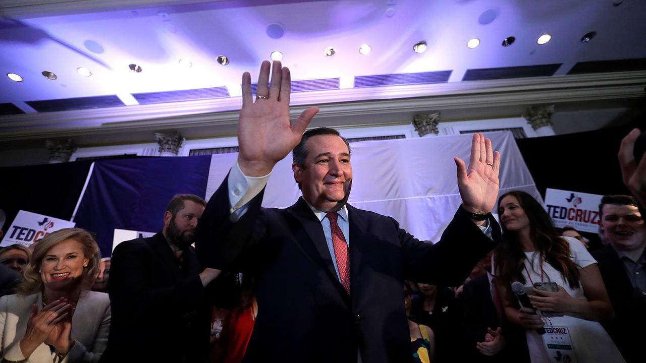 Fox News Decision Desk projects that Texas Republican incumbent Sen. Ted Cruz will defeat Democrat Beto O'Rourke.