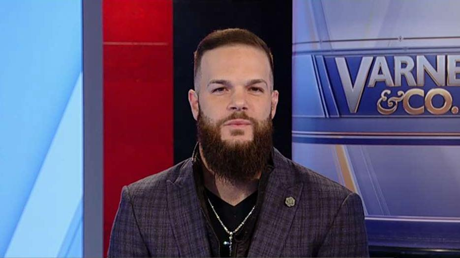 Free agent pitcher Dallas Keuchel on his investment in NoSweat and his future in the MLB.