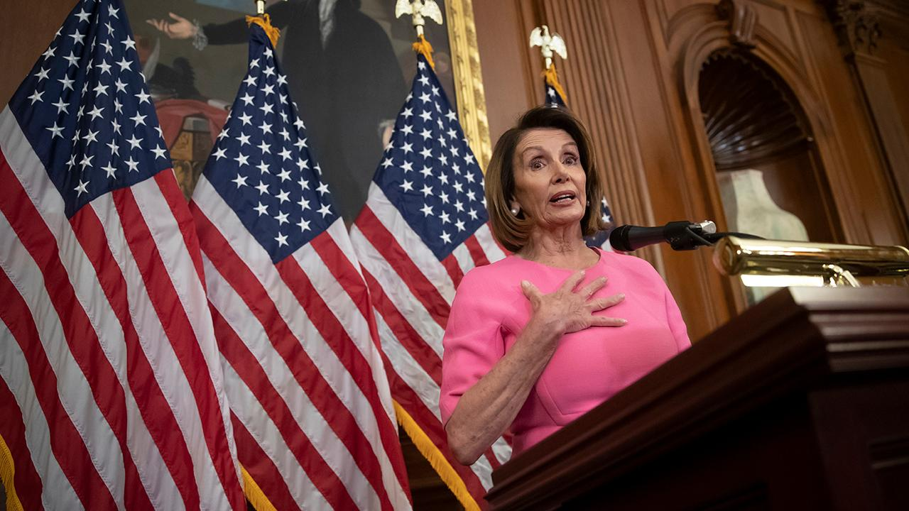FBN's Kennedy criticizes House Minority Leader Nancy Pelosi.