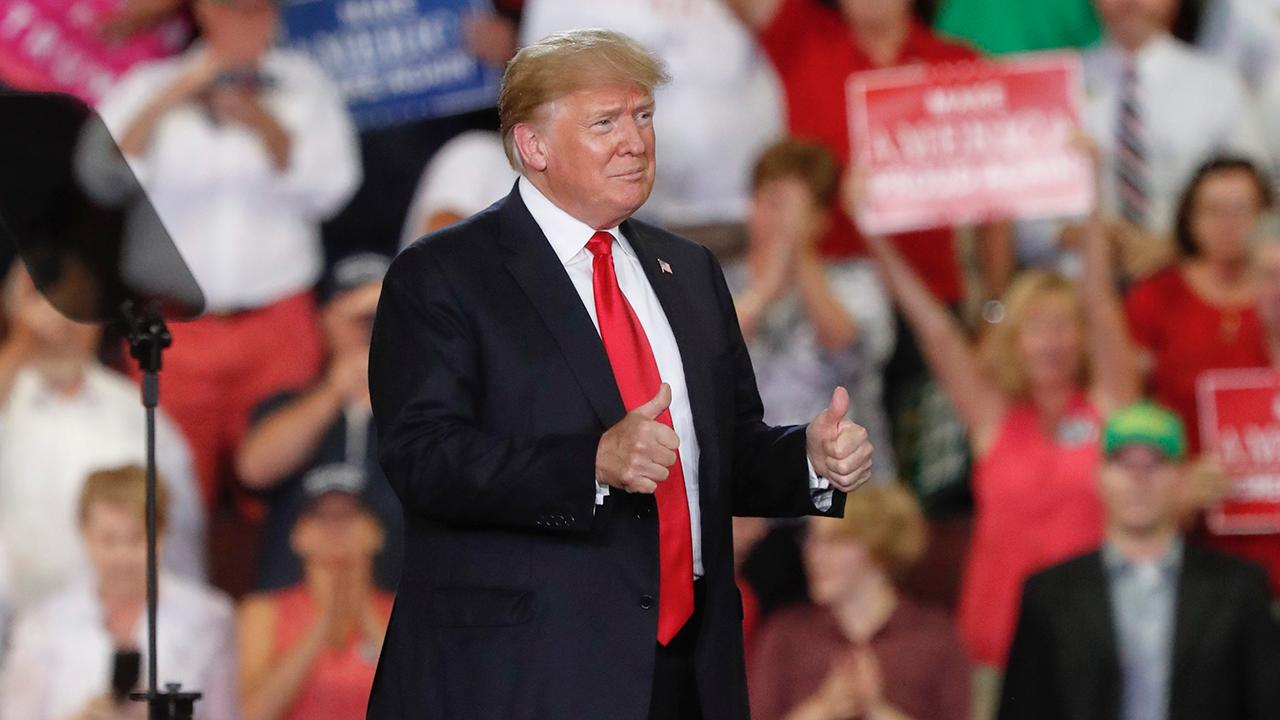 District Media Group President Beverly Hallberg, Forbes senior political contributor Rick Ungar and Madison Gesiotto of the National Diversity Coalition for Trump, discuss how the booming economy under President Trump will impact the midterm elections.