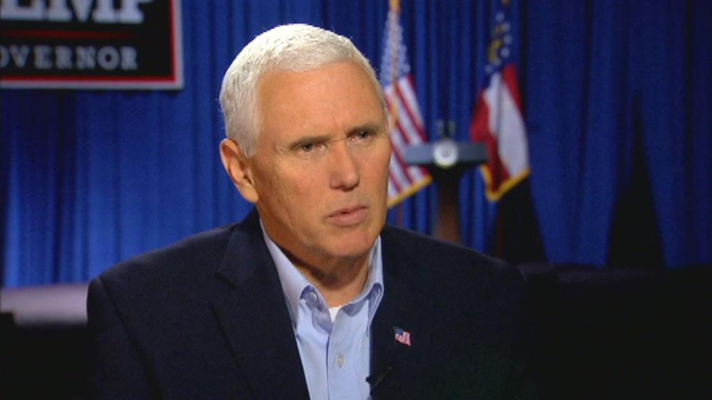 "Mike Pence: ""Any illusion to evil historical figures in the past is shameful."""