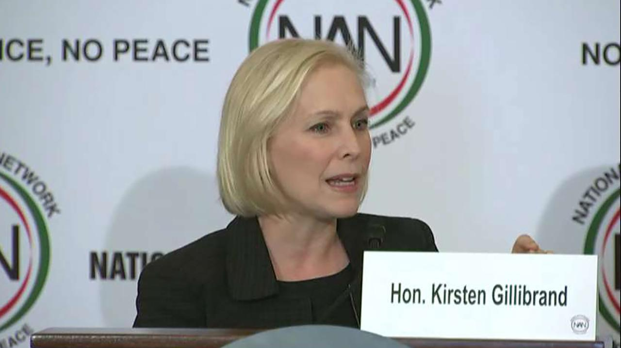 "Betsy McCaughey, former lieutenant governor of New York, discusses Sen. Kirsten Gillibrand's (D-N.Y.) tweet, which said that the future is ""female and ""intersectional."""