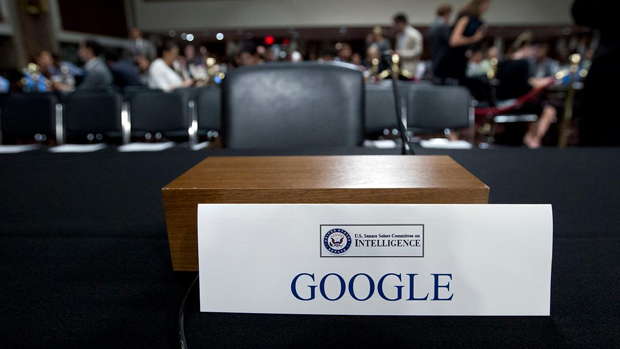 Google CEO Sundar Pichai is making a rare visit to Capitol Hill on Tuesday to address allegations of anti-conservative bias with its social media platforms. Independent Women's Forum Kelsey Harkness says conservatives have been raising the alarm over censorship on social media platforms.