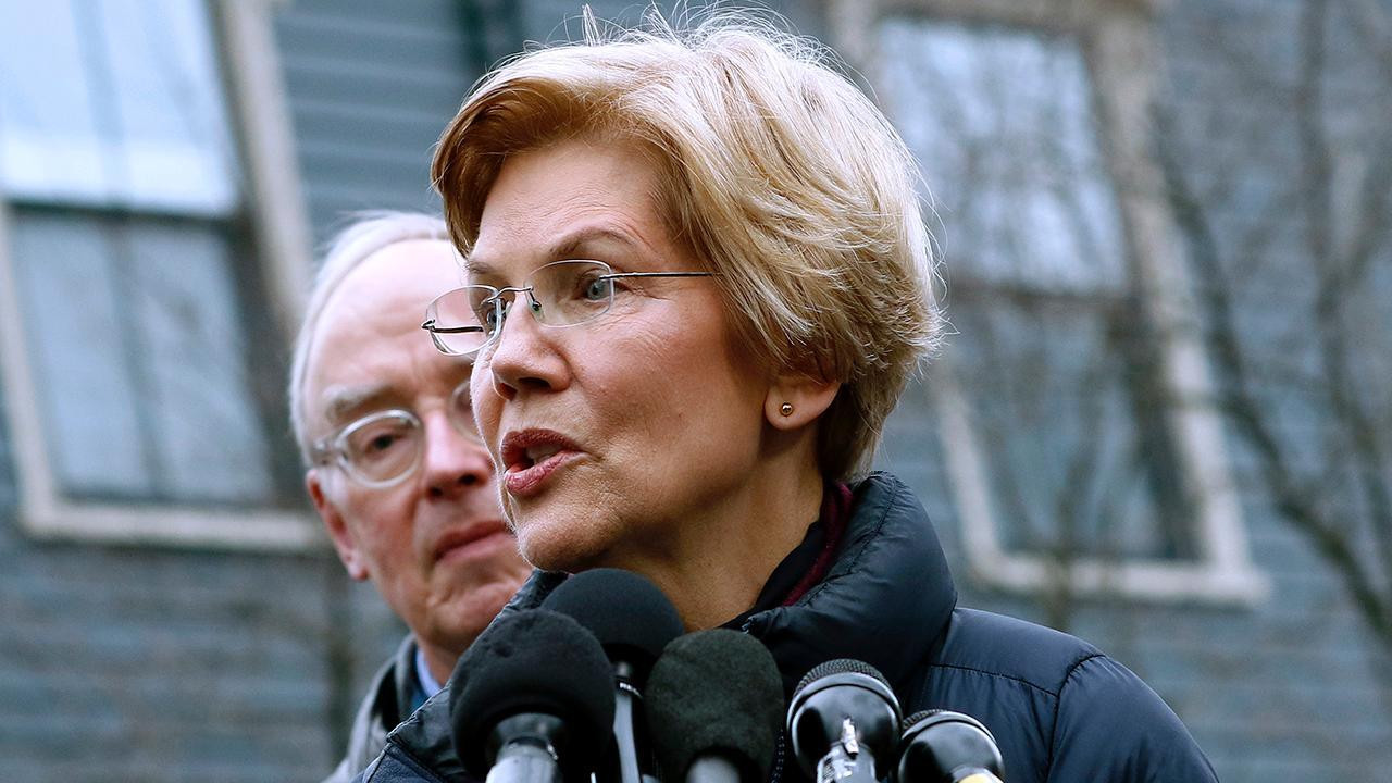 """Bulls & Bears"" panel on Sen. Elizabeth Warren's (D-Mass.) potential 2020 presidential run."