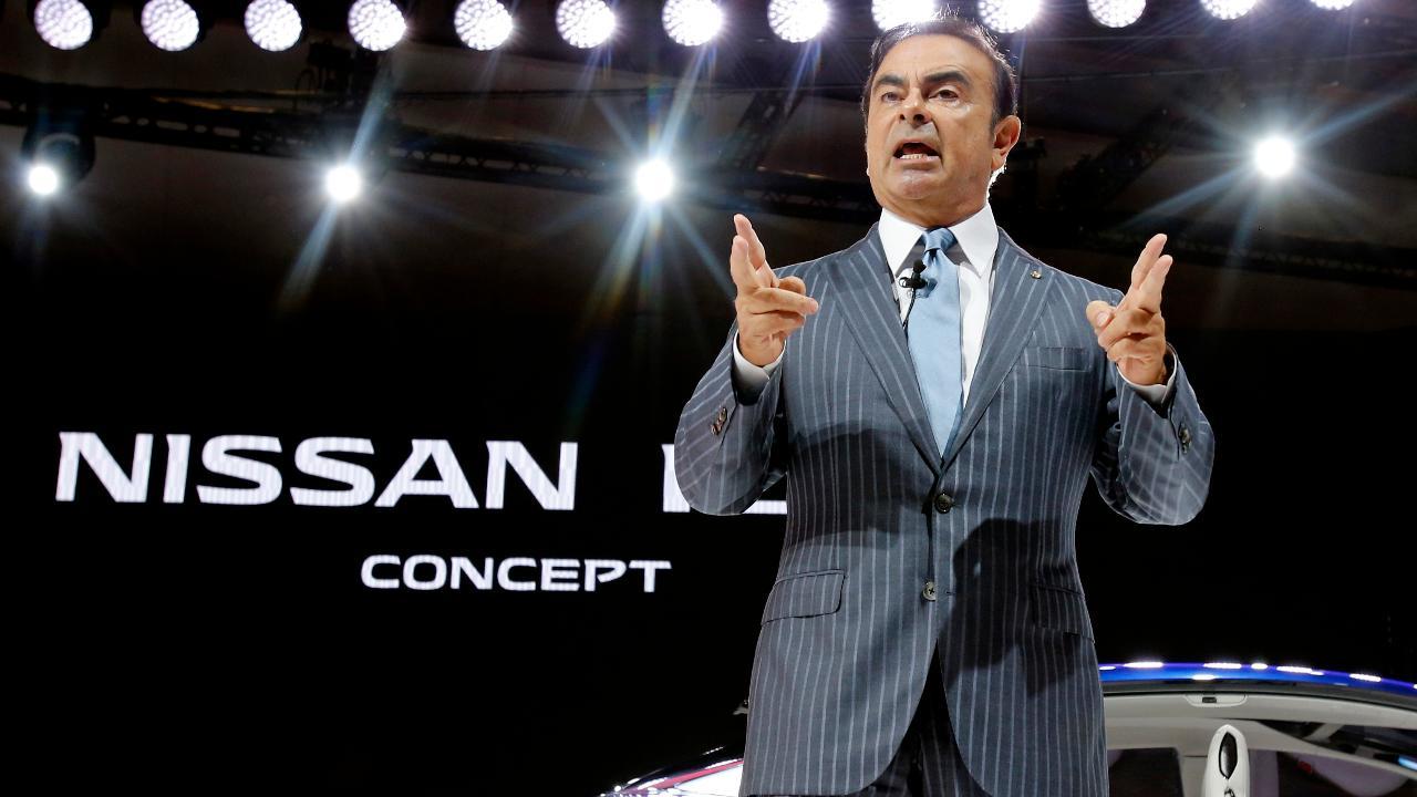 FBN's Cheryl Casone on the latest allegations against former Nissan Chairman Carlos Ghosn.