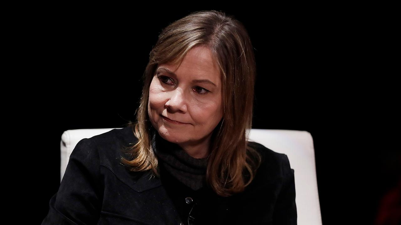 General Motors CEO Mary Barra told reporters that the auto company is strong and in a leadership position after meeting with Ohio senators.