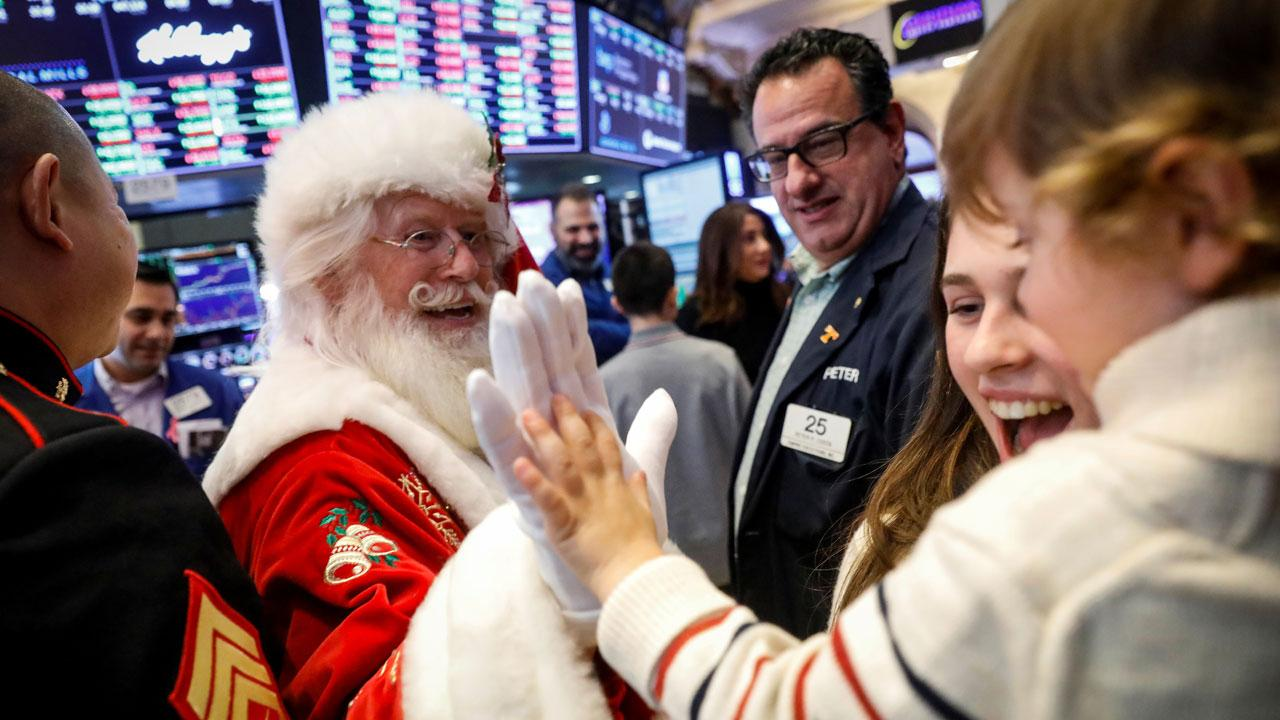 Larrea Wealth Management CEO Aquiles Larrea on the top stocks to give your kids as holiday gifts and the financial lessons they can learn from being an investor.