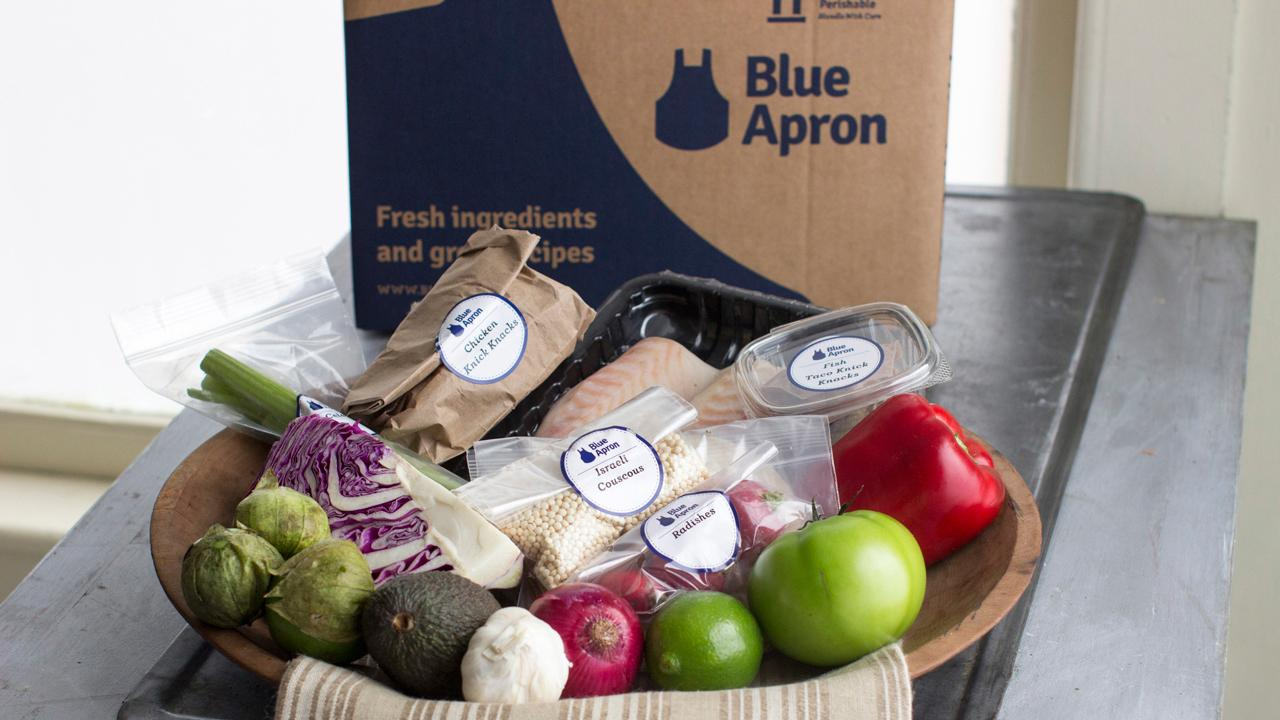 FBN's Kristina Partsinevelos on Weight Watchers' new deal with Blue Apron.