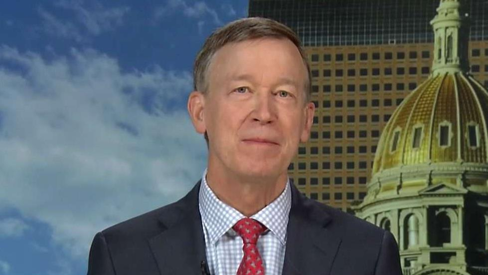 Colorado Governor John Hickenlooper (D) discusses some of the key concerns for the Democratic Party and ways to reduce gun violence in the U.S.