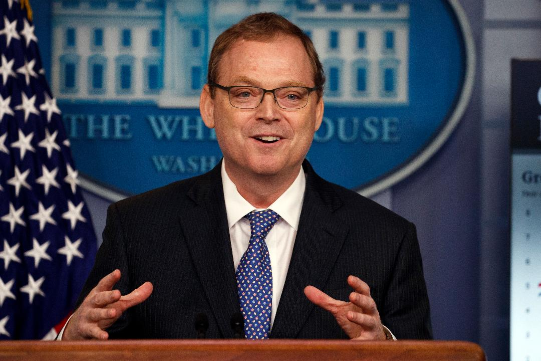 White House Council of Economic Advisers Chairman Kevin Hassett discusses the recent rise in retail sales and why he is optimistic about GDP growth.