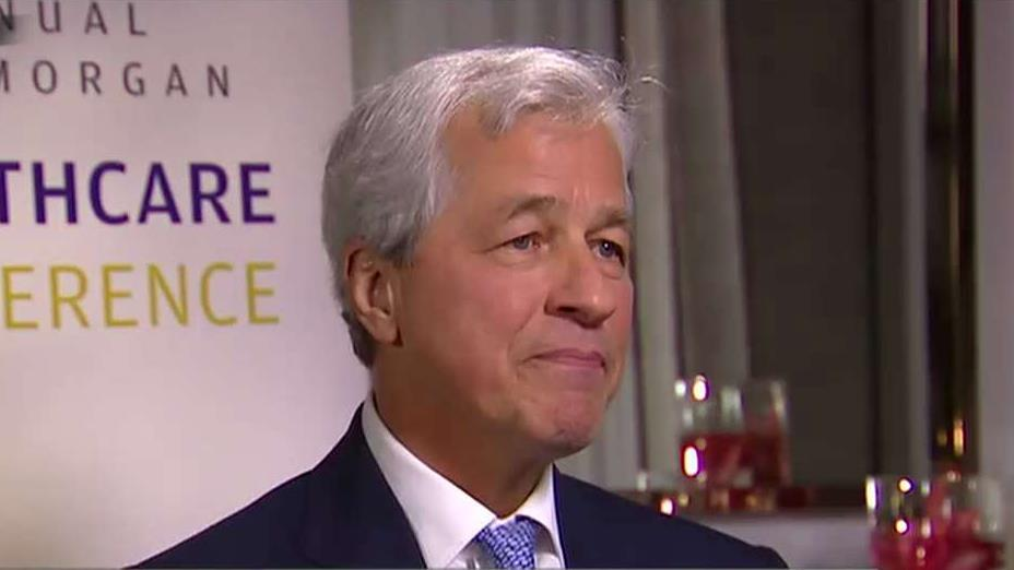 JPMorgan Chase CEO Jamie Dimon on the economy, the credit market, the state of the consumer and tax cuts.