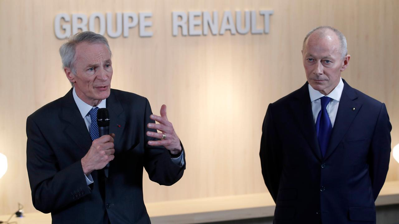 FBN's Cheryl Casone on Renault naming a new chairman and CEO to replace Carlos Ghosn.