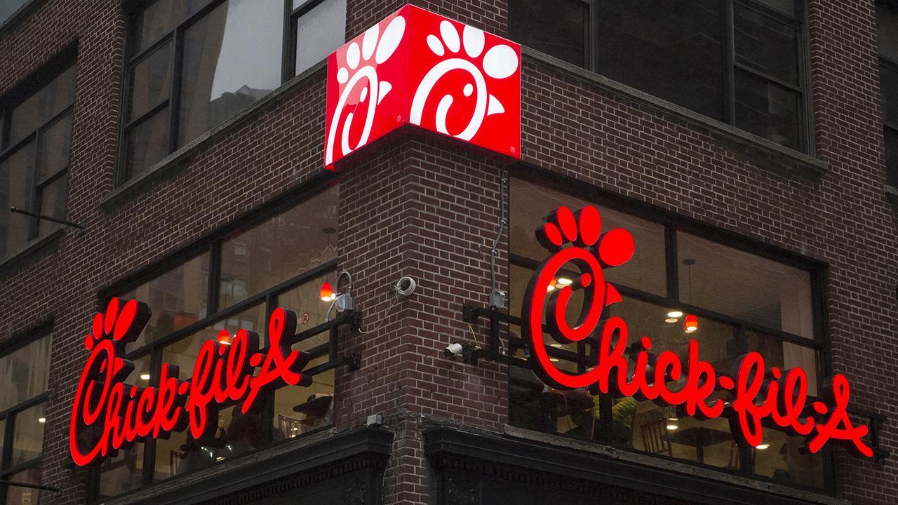 Chick-fil-A CEO Dan Cathy discusses the food chain's sales milestone, the state of the U.S. economy and its aspirational growth after starting off as a family business in Atlanta, home of Super Bowl LIII.