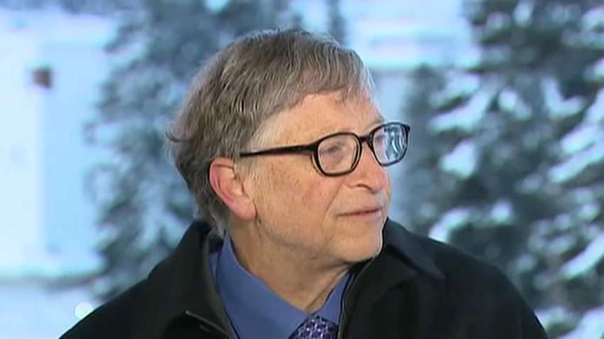 Microsoft co-founder Bill Gates on money spent improving health care.