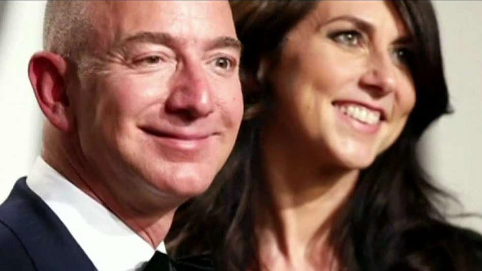 FBN's Liz MacDonald and Ashley Webster on the potential fallout from Amazon CEO Jeff Bezos' divorce from his wife MacKenzie Bezos.