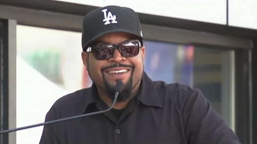 FBN's Charlie Gasparino reports that rapper Ice Cube is looking to make a bid for Fox's regional sports networks.