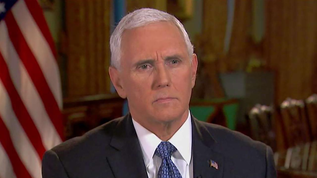 Vice President Mike Pence discusses the problems surrounding Venezuela and how the U.S. is now recognizing Juan Guaido as the new interim president of the country.