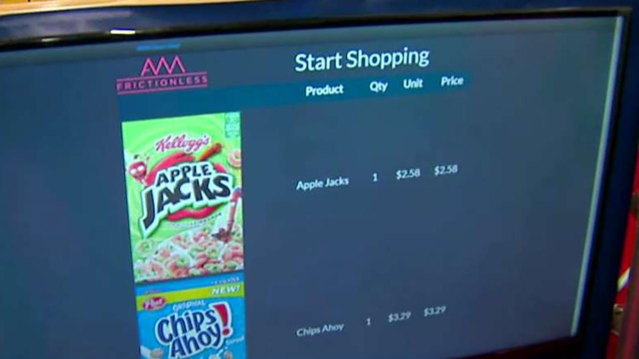 AWM Smart Shelf co-founder Kurtis Van Horn discusses how his company's technology can make it easier for consumers to shop.
