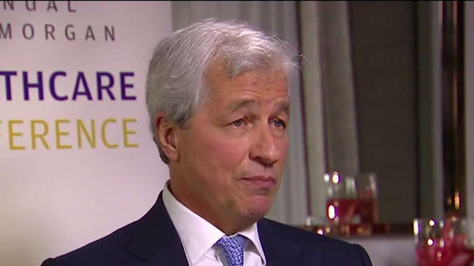 JPMorgan Chase CEO Jamie Dimon on how the bank is helping customers impacted by the partial government shutdown, the impact of the increasingly partisan politics, the innovation and growth in the health-care sector and his career at the bank.