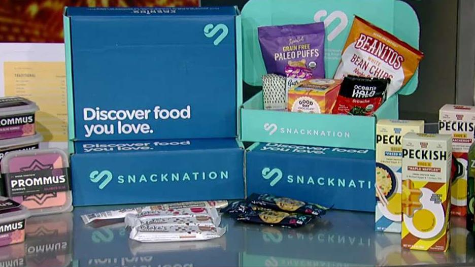 Prommus CEO Anthony Brahimsha, Krave and Smashmallow founder Jon Sebastiani and SnackNation CEO Sean Kelly on efforts to innovate within the snack food industry with healthier options.
