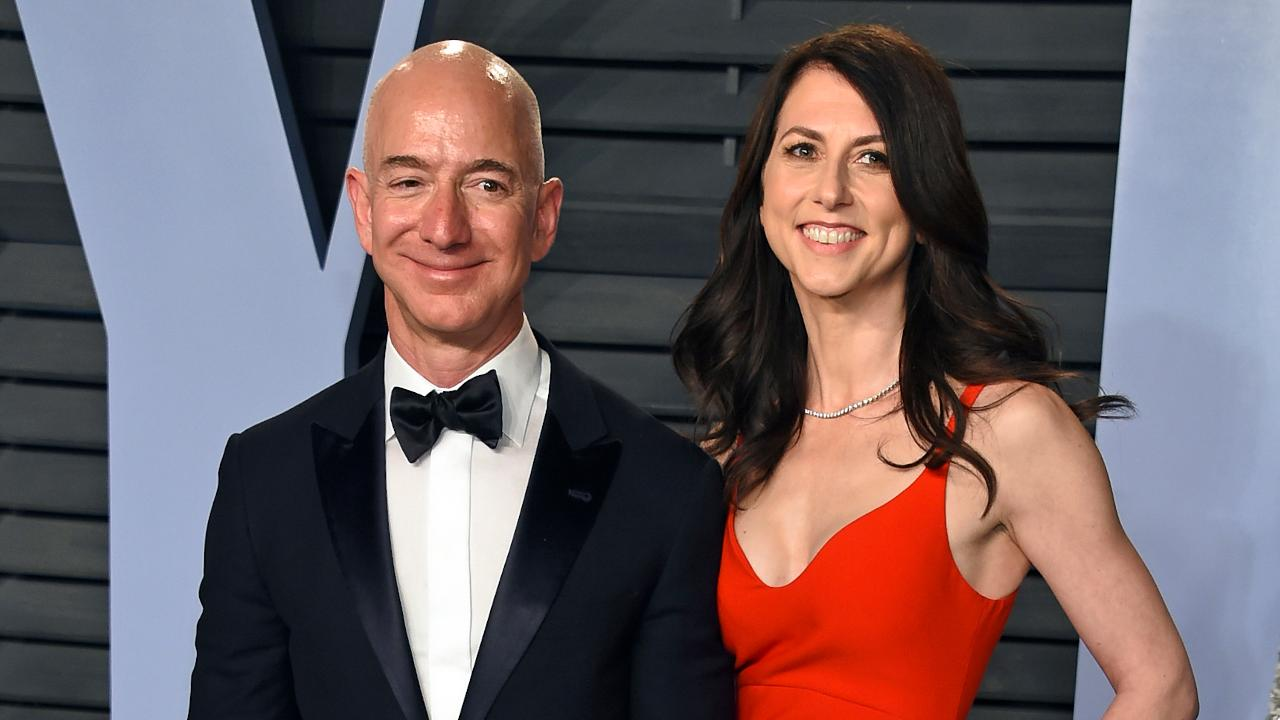 FBN's Stuart Varney on the drama over Amazon CEO Jeff Bezos' divorce.