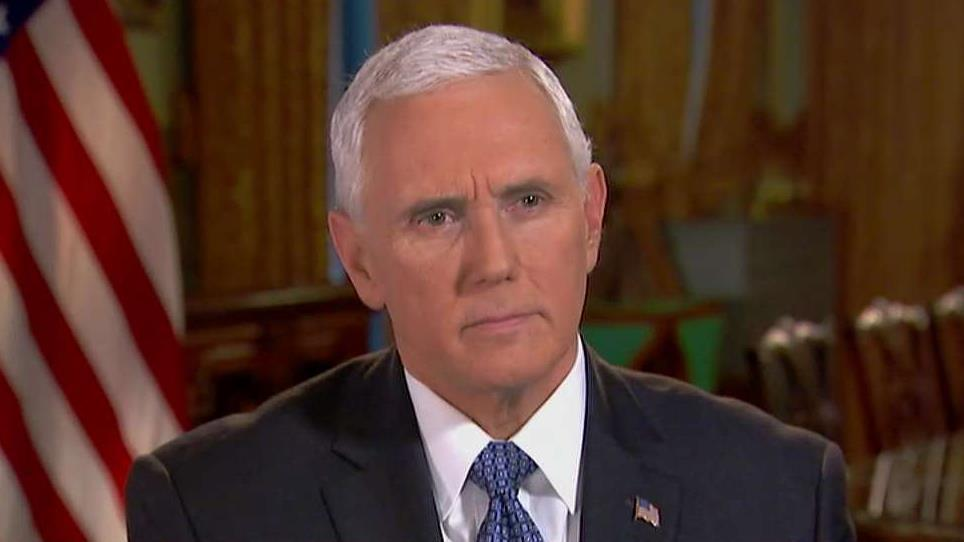 "Vice President Mike Pence discusses how China, Cuba and Russia have been engaging in ""debt diplomacy"" with Venezuela."
