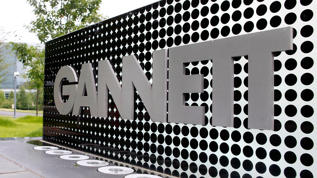 """""""Bulls & Bears"""" panel on how newspaper chain MNG Enterprises offered to buy USA Today publisher Gannett for $1.36 billion."""
