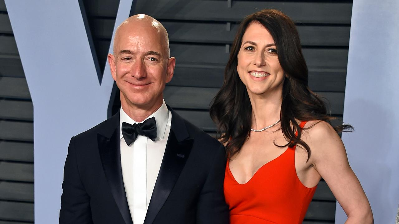 FBN's Stuart Varney on Amazon CEO Jeff Bezos announcing he and his wife MacKenzie will be divorcing after 25 years of marriage.
