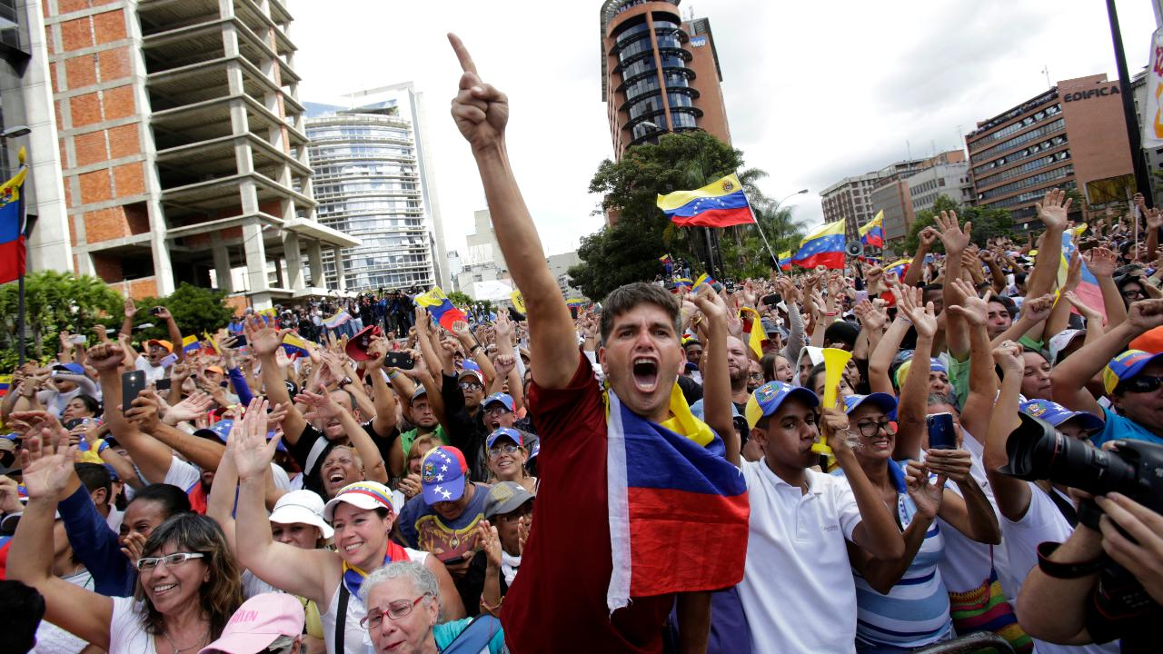 FBN's Stuart Varney on how the U.S. should handle the political unrest in Venezuela.