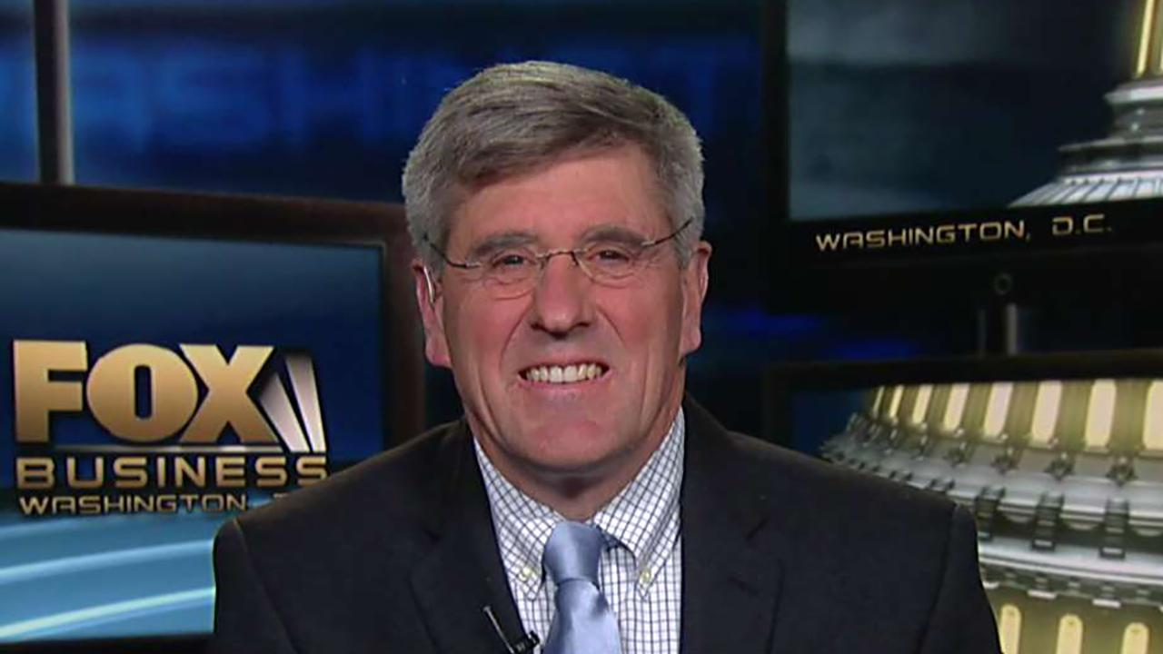 """""""Trumponomics"""" co-author Steve Moore responds to a criticism from New York Times columnist Paul Krugman. Moore also discusses the state of the U.S. economy and the U.S.-China trade war."""