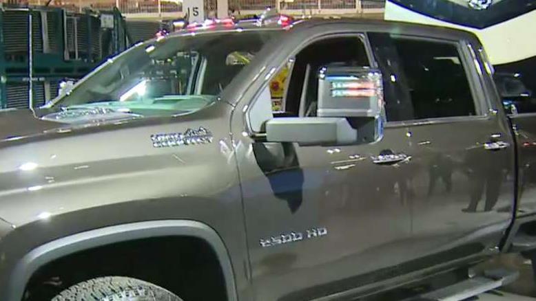 FBN's Jeff Flock on General Motors' latest Chevy Silverado heavy-duty truck.