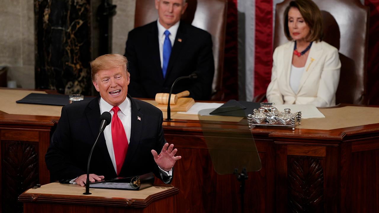 President Trump discusses the strength of the U.S. economy and the rise in wages during the State of the Union address.