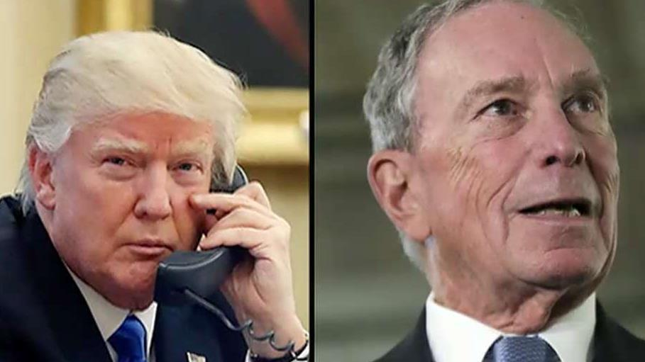 Sources tell FOX Business' Charlie Gasparino that former New York City Mayor Michael Bloomberg could spend more than half a billion dollars to run against President Trump.