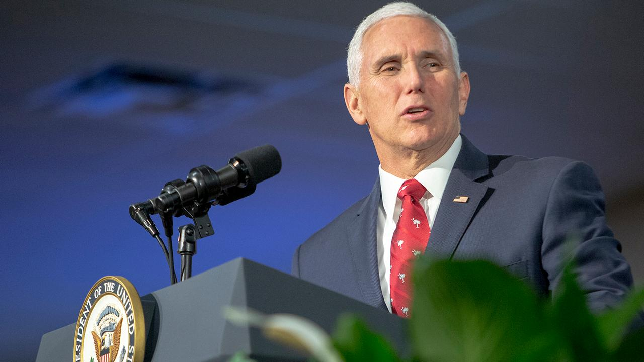 "Vice President Mike Pence told FOX Business' Trish Regan exclusively that disputed Venezuelan President Nicolas Maduro ""must go"" and that the U.S. is urging nations around the world to disavow Maduro."