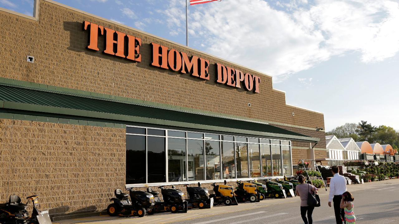 Home Depot revenue up, same-store sales growth slows