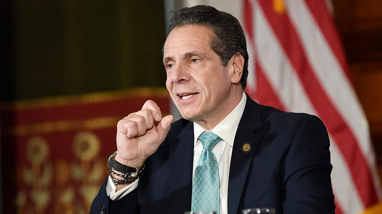 FBN's Trish Regan tells New York Governor Andrew Cuomo (D-N.Y.) to stop whining about the SALT deduction cap.