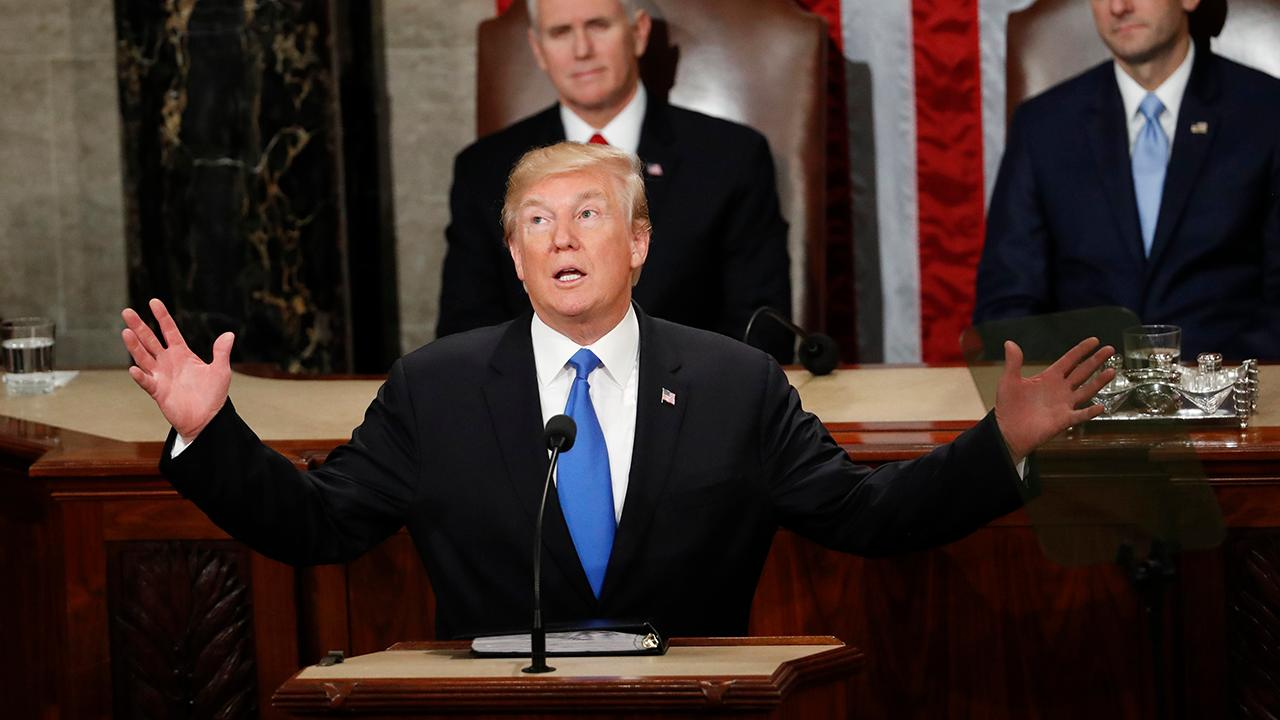 Rep. Brian Higgins (D-N.Y.) on how President Trump's State of the Union address can spark bipartisanship within Congress and the debate over border security.