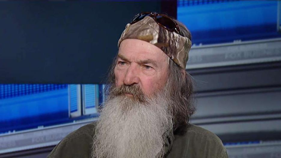 'Duck Dynasty' star and 'The Theft of America's Soul' author Phil Robertson on the need for more forgiveness in America, his successful career and capitalism.