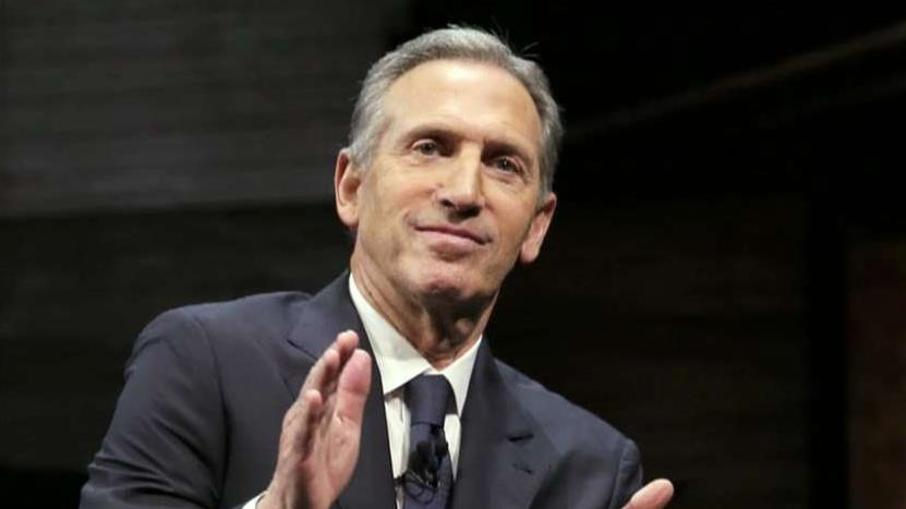 Former Starbucks CEO Howard Schultz tells advisors that he surprised by the backlash to his potential independent presidential run, according to FOX Business' Charlie Gasparino.