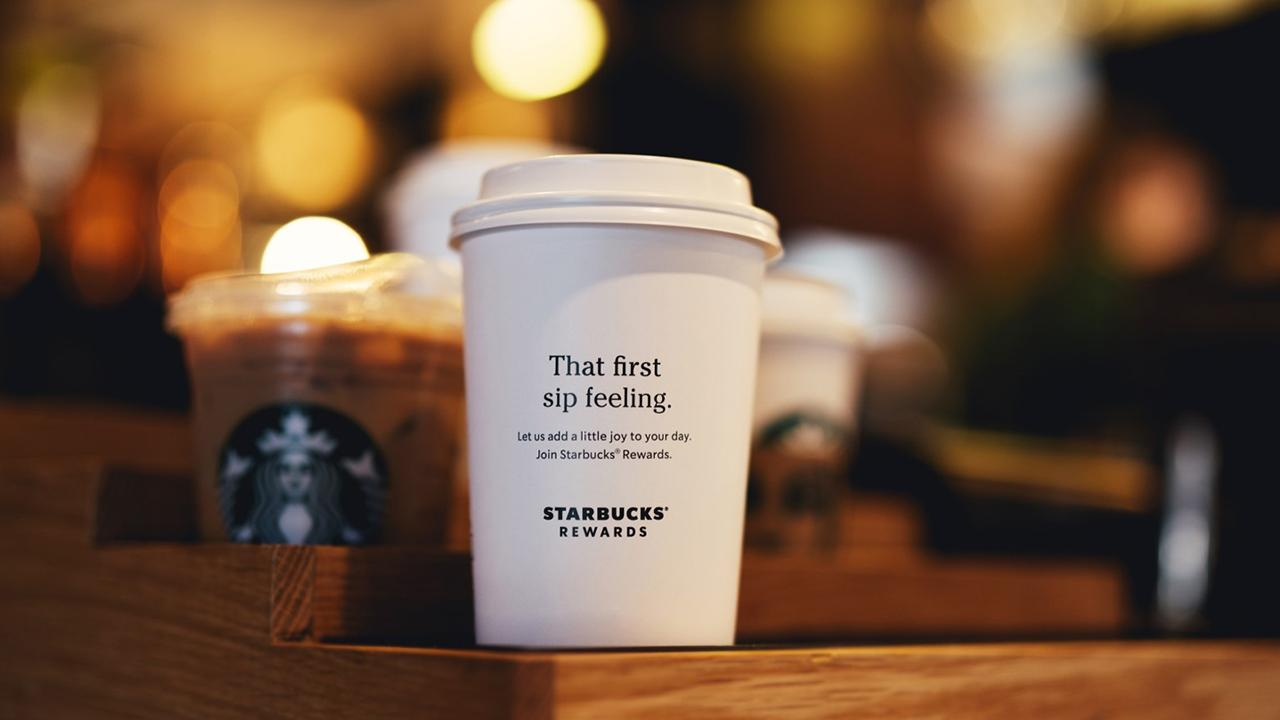 Morning Business Outlook: Starbucks is about to make it easier for customers to earn free stuff by allowing rewards members to earn stars sooner; U.S. retail gas prices starting to rise in what is known as the 'spring surge.'