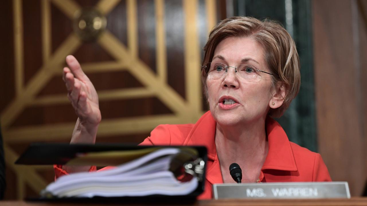FBN's Hillary Vaughn on the reaction from tech executives to Sen. Elizabeth Warren's, (D-Mass.), calls to break up big tech.