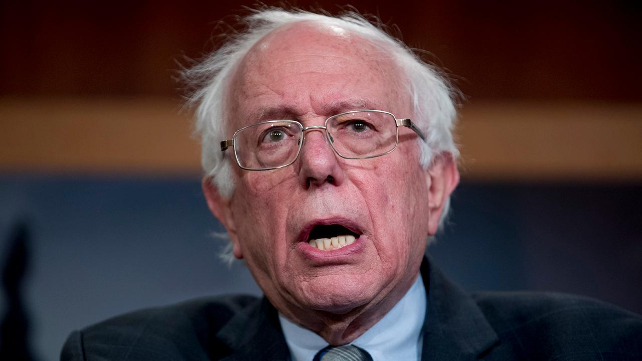 American Majority CEO Ned Ryun discusses how Sen. Bernie Sanders (I-Vt.) is facing scrutiny over a report that he called for the nationalization of all U.S. companies in the 1970s.